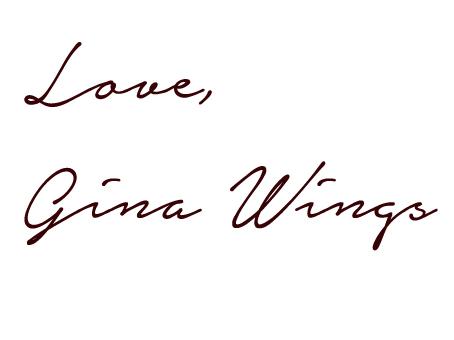 Love Gina Wings