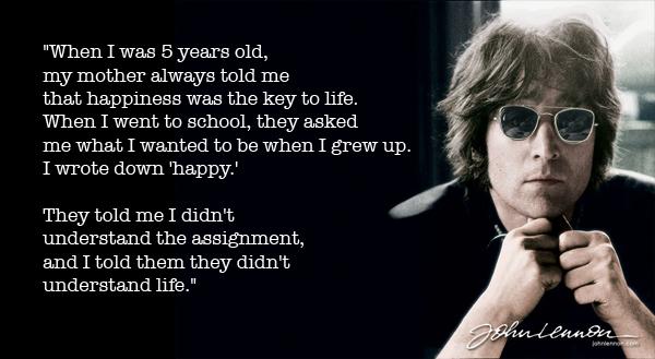 Understanding Life: John Lennon On Art, Love And Peace